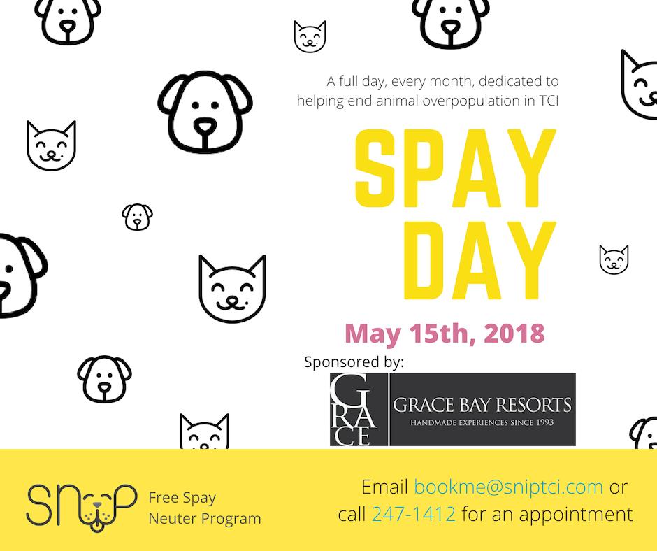 SNiP Spay Day Sponsored by Grace Bay Resorts